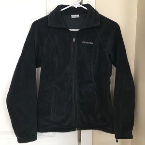 Columbia Black Fleece Jacket XS